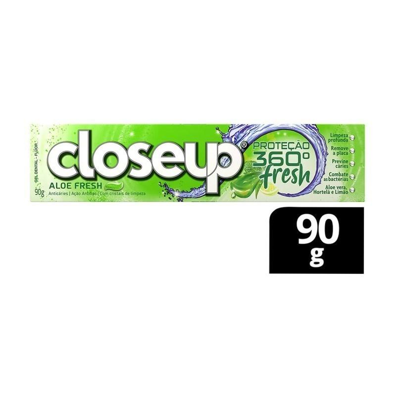 Creme Dental Close Up Antibac 90 gr Aloe Fresh