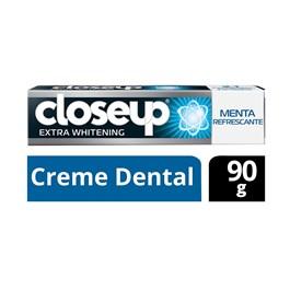 Creme Dental Close Up Extra Whitening 90 gr Menta Refrescante
