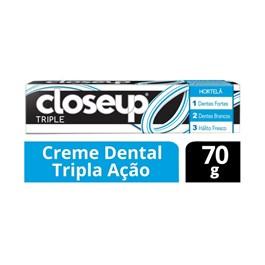 Creme Dental Closeup Triple 70 gr Hortelã