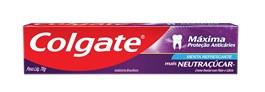Creme Dental Colgate 70 gr Menta Refrescante mais Neutraçúcar