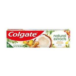 Creme Dental Colgate Natural Extracts 90 gr Detox