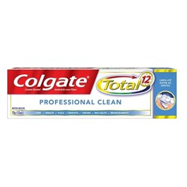 Creme Dental Colgate Total 12 70 gr Professional Clean