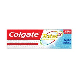 Creme Dental Colgate Total 12 70 gr Saúde Visível