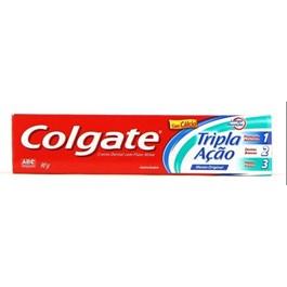 Creme Dental Colgate Tripla Ac?o 90 gr Menta Original
