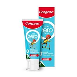 Creme Dental Colgate Zero Kids 70 gr Morango