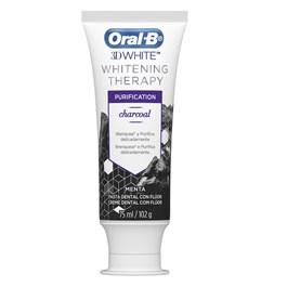 Creme Dental Oral-B 3D White 102 gr Whitening Therapy Purification