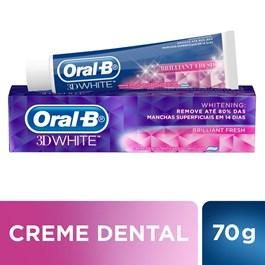 Creme Dental Oral-B 3D White 70 gr Brilliant Fresh