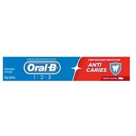 Creme Dental Oral-B Anti Caries 70 gr Menta Suave