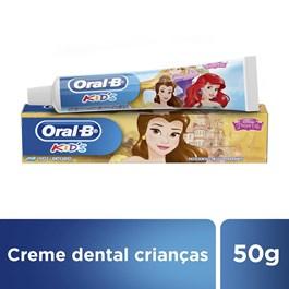 Creme Dental Oral-B Kids 50 gr Princesas Sortidas