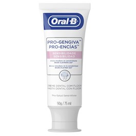 Creme Dental Oral-B Pro-Gengiva 90 gr Sensibilidade