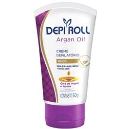 Creme Depilatório Buço Depi Roll 50 gr Argan Oil