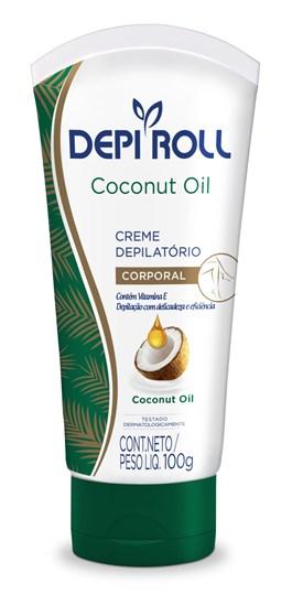 Creme Depilatório Corporal Depi Roll Coconut Oil 100 gr