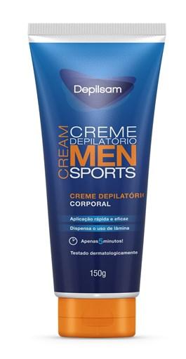 Creme Depilatório Corporal Depilsam 150 gr Men Sports