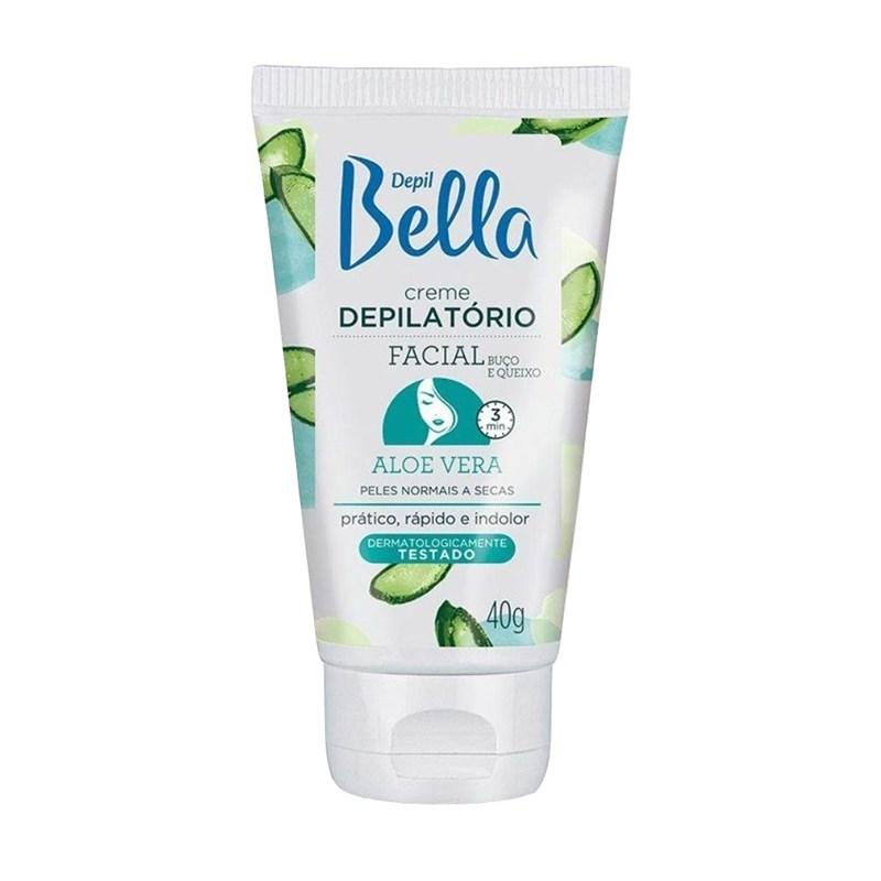 Creme Depilatório Facial Depil Bella 40 gr Aloe Vera