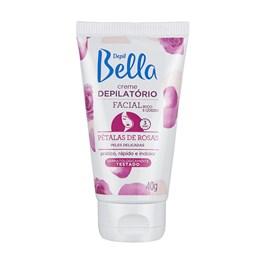 Creme Depilatório Facial Depil Bella 40 gr Pétalas de Rosas