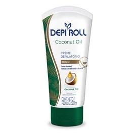Creme Depilatorio para Buco Depi Roll Coconut Oil 100 gr