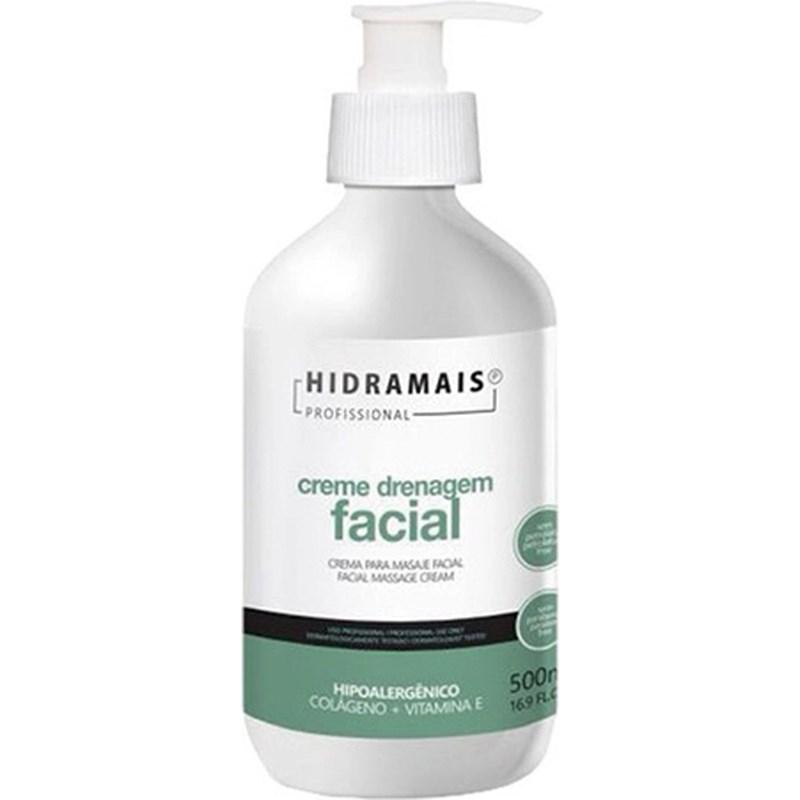 Creme Drenagem Facial Hidramais 500 ml
