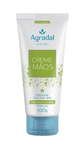 Creme Esfoliante Mãos Agradal 100 gr Hidratação Imediata
