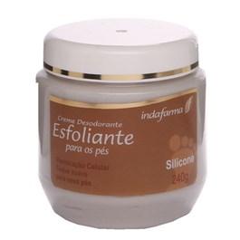 Creme Esfoliante para Pés Indafarma 240 gr Silicone