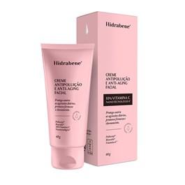 Creme Facial Hidrabene 60 gr Antipoluição e Anti-Aging