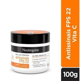 Creme Facial Neutrogena 100 gr Antissinais