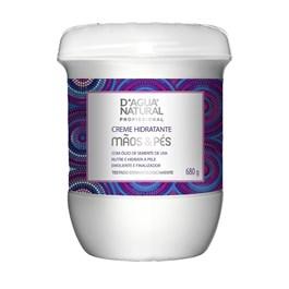 Creme Hidratante D'Agua Natural M?os e Pes 680 gr