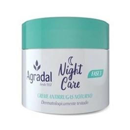 Creme Hidratante Facial Agradal Night Care 55 gr Antirrugas