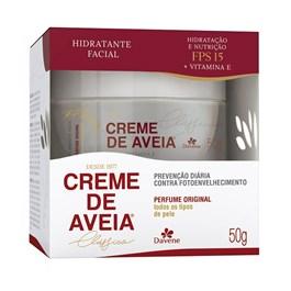 Creme Hidratante Facial Davene Aveia 50 gr Clássico
