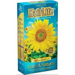 Creme para Alisamento Hair Life Embelleze 180 gr Solto & Natural