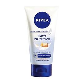 Creme para Mãos Nivea Soft Nutritivo 75 gr Anti Ressecamento