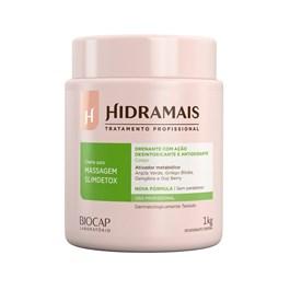 Creme para Massagem Hidramais 1 Kg SlimDetox