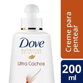 Creme para Pentear Dove Nutrive 200 ml Ultra Cachos