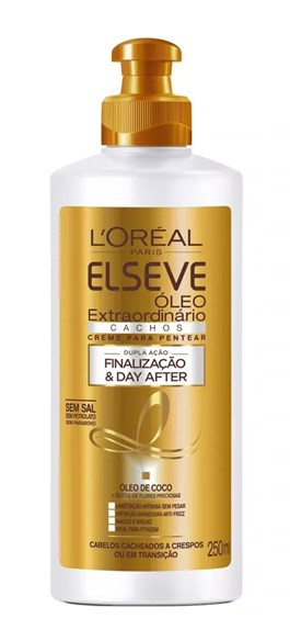 Creme para Pentear Elseve Cachos 250 ml Finalização & Day After