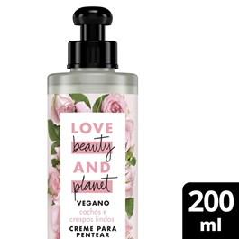 Creme para Pentear Love Beauty & Planet 200 ml Manteiga de Murumuru e Rosas