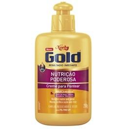 Creme para Pentear Niely Gold 280 gr Nutrição Poderosa