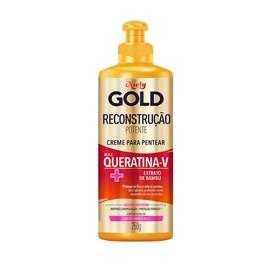 Creme para Pentear Niely Gold 280 gr Queratina Reparac?o