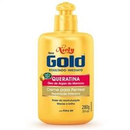 Creme para Pentear Niely Gold 280 gr Queratina Reparação