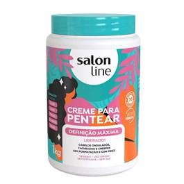 Creme para Pentear Salon Line 1 kg Definição Máxima