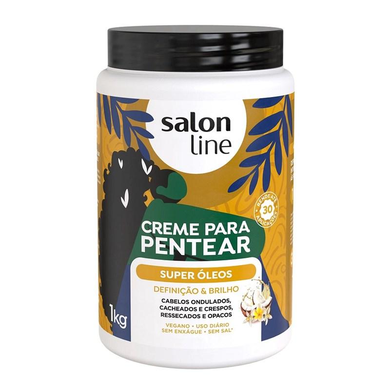 Creme para Pentear Salon Line 1 kg Hidratação Profunda