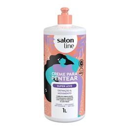 Creme Para Pentear Salon Line 1 litro Super Leve