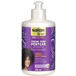 Creme para Pentear Salon Line 300 ml Forca e Hidratação