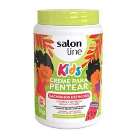 Creme para Pentear Salon Line Kids 1 kg Cachinhos Definidos