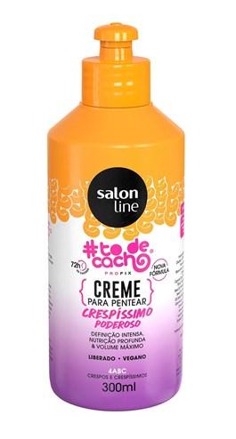 Creme para Pentear Salon Line #todecacho 300 ml Crespíssimo Poderoso
