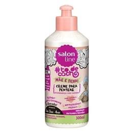 Creme Para Pentear Salon Line #todecacho Mãe e Filha 300 ml Desembaraça Com Carinho