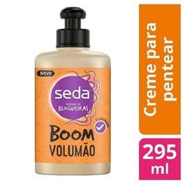 Creme para Pentear Seda 295 ml Boom Volumão