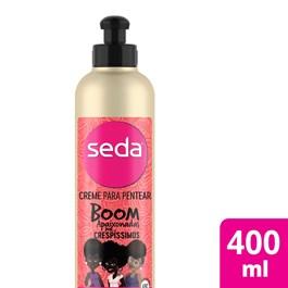 Creme para Pentear Seda Boom 400 ml Apaixonadas por Crespíssimos