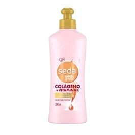 Creme para Pentear Seda By Niina Secrets 300 ml Colágeno + Vitamina C