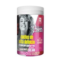 Creme Para Pentear Soul Power 800 gr Color Curls