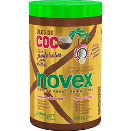 Creme para Tratamento Novex Óleo de Coco 400g