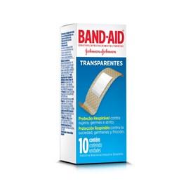 Curativos Band-Aid Transparente | Com 10 Unidades